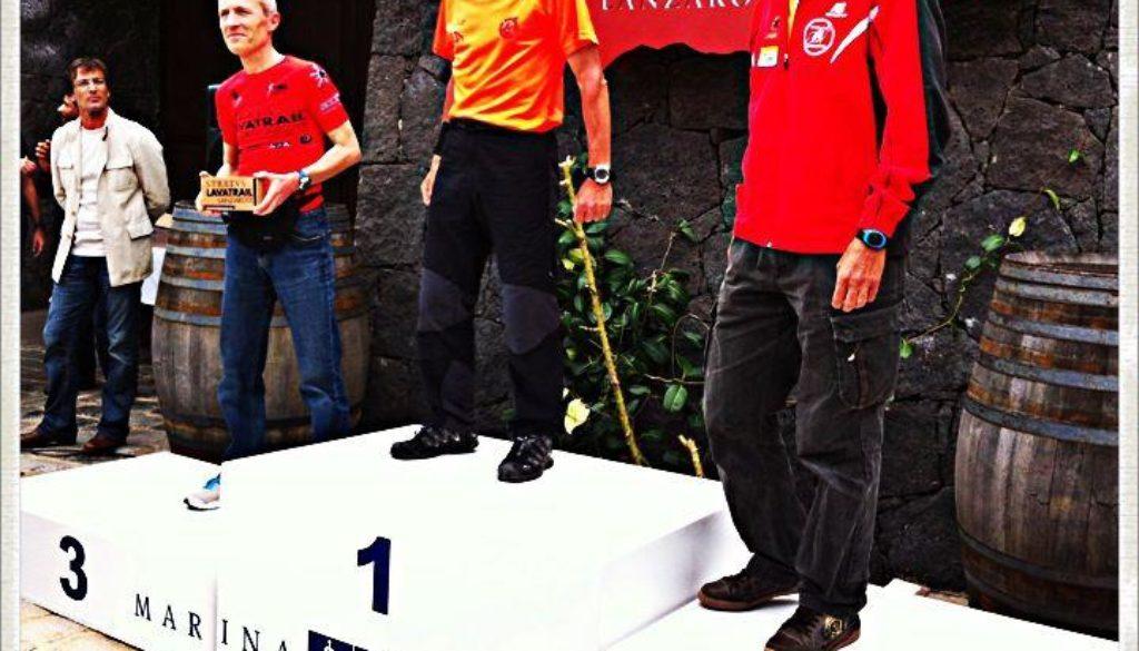 Foto Arzenton sul podio a Lanzarote 10.04.2013
