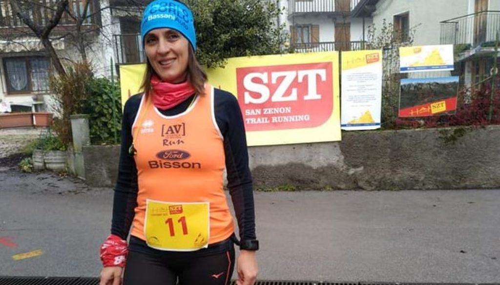 Rodica al Trail di San Zenon di Sospirolo (Belluno)