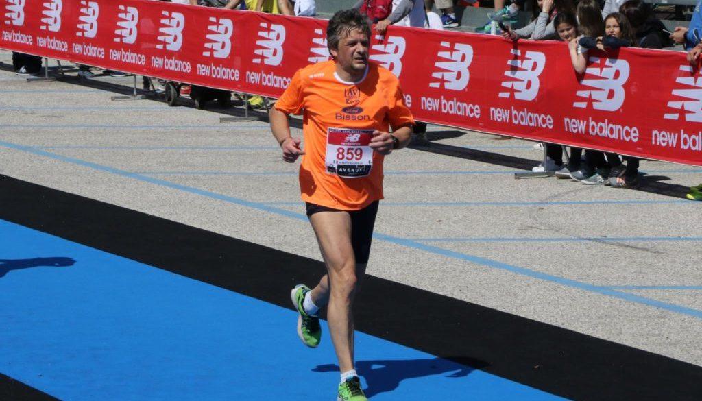 Alberto Bagarella in azione (foto dal suo profilo Facebook)