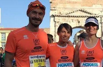 Da sinistra Paolo, Loredana e Michela.