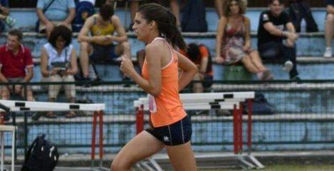 (Nella foto, tratta dal suo profilo Facebook, Maddalena in una foto di repertorio, impegnata in una gara su pista - Copia